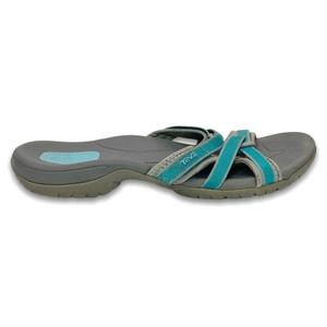 Teva Tirra Slide-W Sandal Lake Blue 10.5